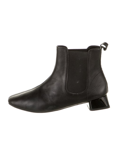 Repetto Leather Chelsea Boots Black