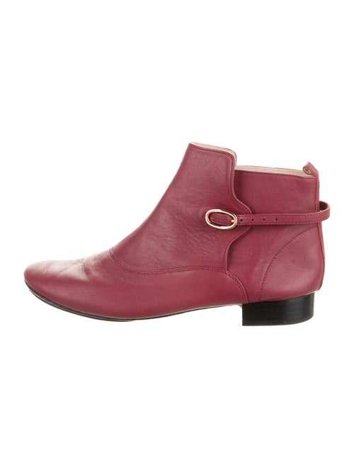 Repetto Leather Boots Pink