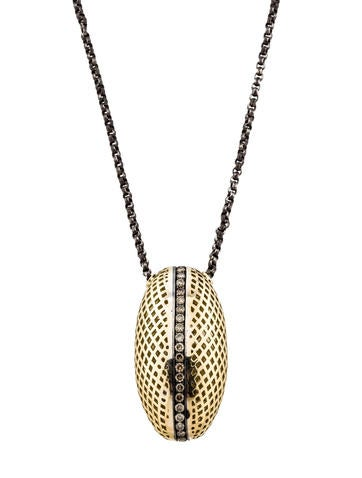 Ray Griffiths Crownwork Diamond Pendant Necklace