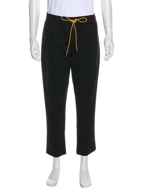 Rhude Cropped Track Pants black