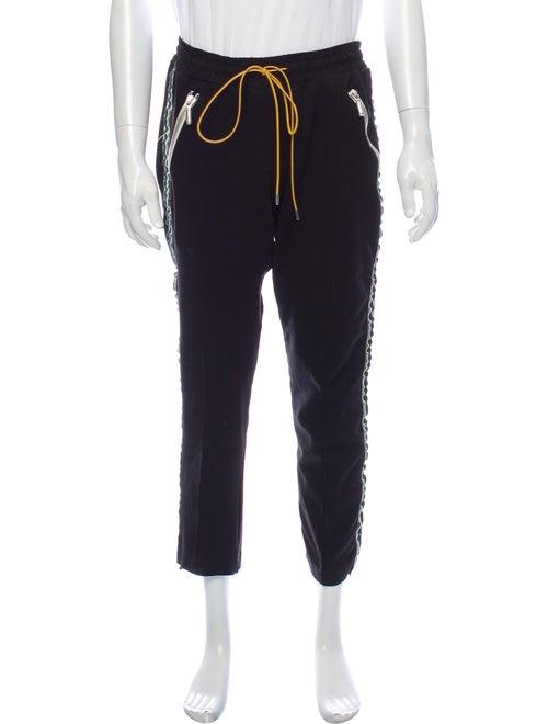Rhude Striped Pants Black