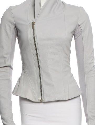 Leather Jacket w/ Tags