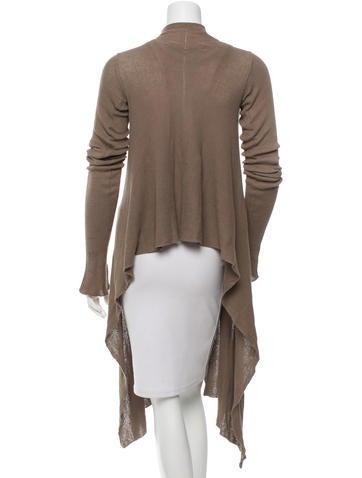 Long Sleeve Draped Cardigan