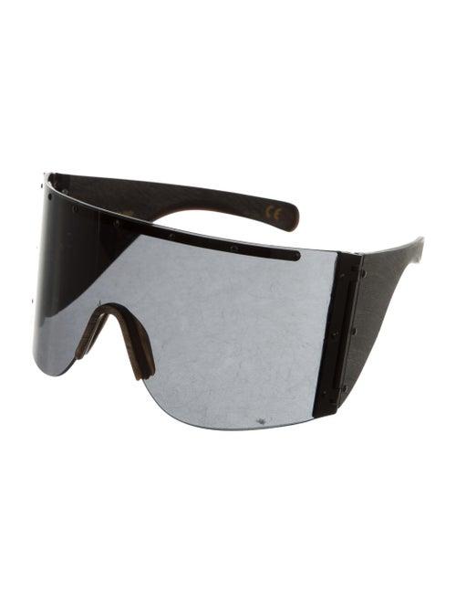 b6570430ccde3 Rick Owens Oversize Shield Sunglasses - Accessories - RIC26744