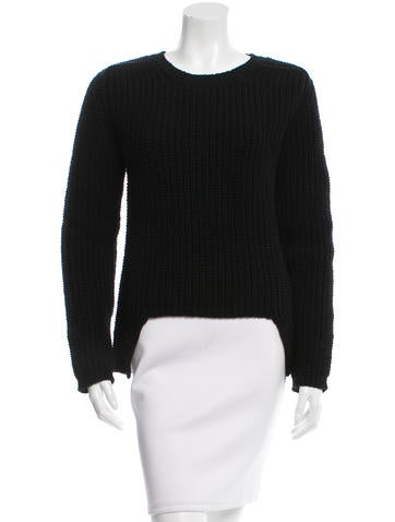Rick Owens Wool Long Sleeve Sweater None