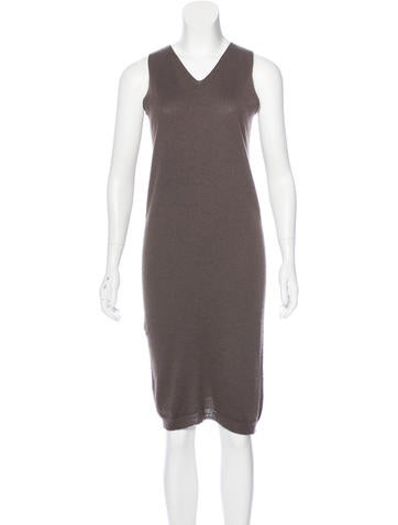 Rick Owens Sleeveless Knit Dress None