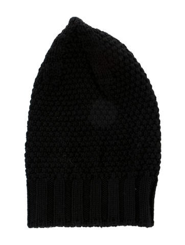 Rick Owens Wool Knit Beanie None