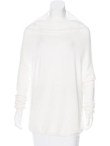 Rick Owens Wool Oversize Sweater None