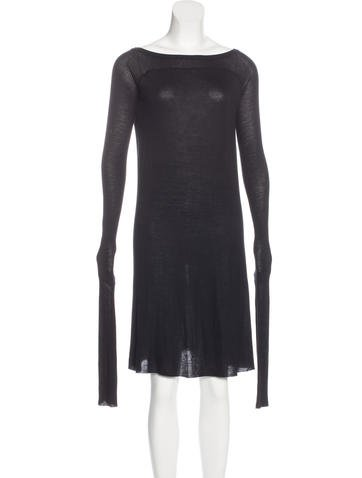 Rick Owens Knit Knee-Length Dress None