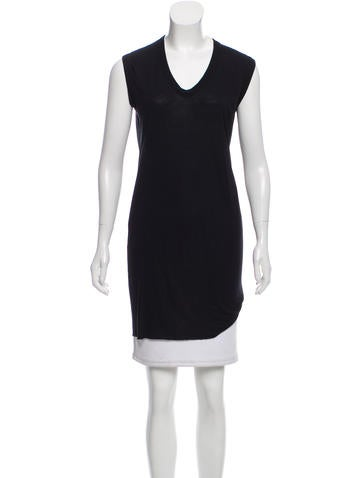 Rick Owens Sleeveless Scoop Neck Top w/ Tags None