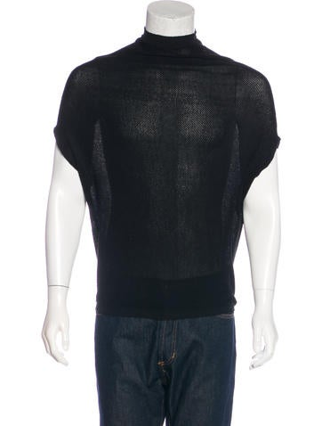 Rick Owens Knit Sleeveless Sweater None