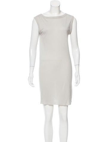 Rick Owens Sleeveless Knit Dress None
