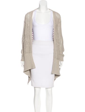 Rick Owens 2016 Open Front Cardigan None