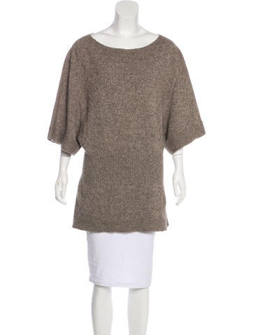 Rick Owens Wool Knit Tunic None