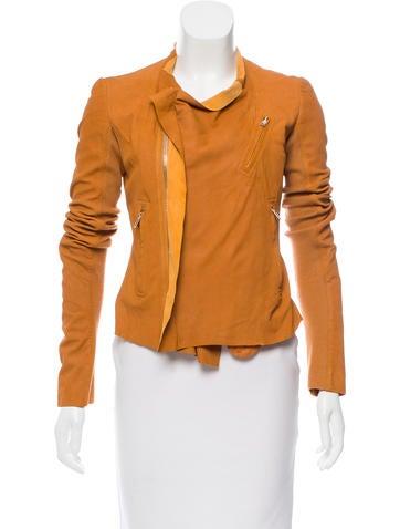Rick Owens Asymmetrical Zip-Up Jacket None