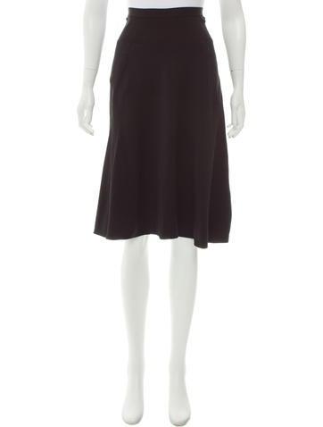 Rick Owens A-Line Knee-Length Skirt None