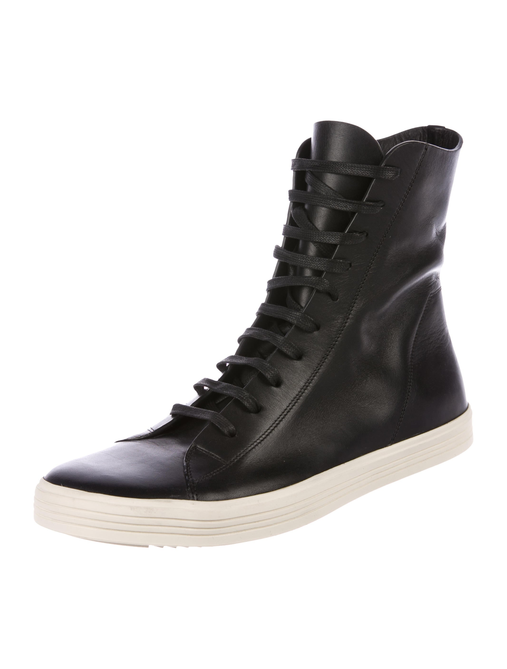 Valentino Black Mastodon High-Top Sneakers JXHdQS9eEj