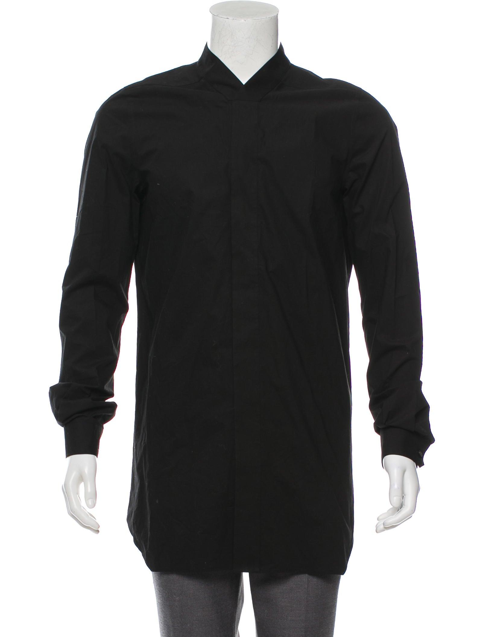 Rick Owens 2016 Dress Shirt Clothing Ric36895 The Realreal