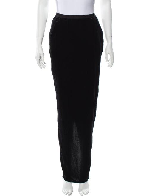 Rick Owens 2017 Long Skirt Black