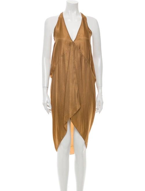 Rick Owens Halterneck Mini Dress