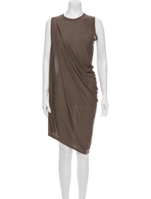 Rick Owens 2014 Midi Length Dress