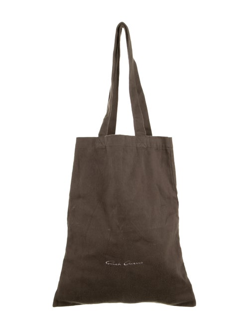 Rick Owens Medium Tote Bag Grey