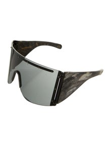 Rick Owens Shield Tinted Sunglasses