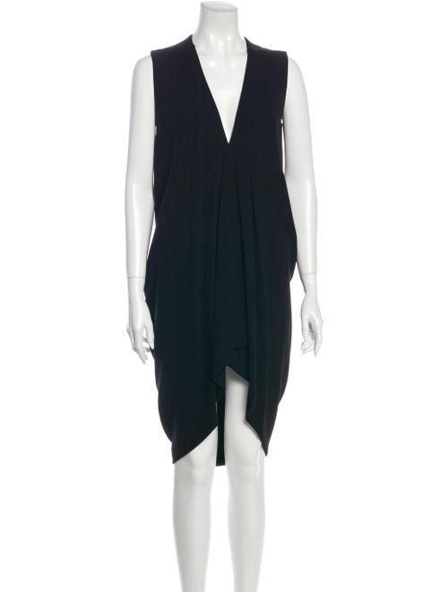 Rick Owens 2012 Mini Dress Black
