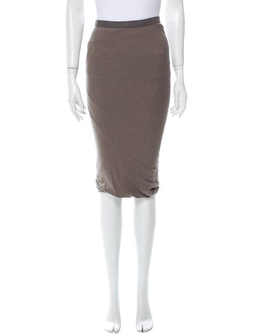 Rick Owens Knee-Length Skirt