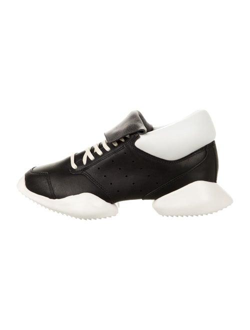 Rick Owens Tech Runner Sneakers w/ Tags Black