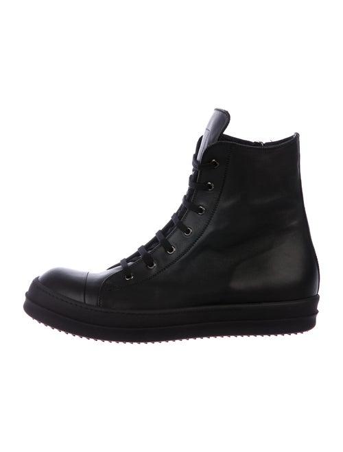 Rick Owens Scarpe High-Top Sneakers Sneakers w/ Ta