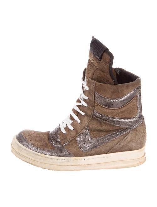 Rick Owens 'Wishbone' Dunk Sneakers Sneakers Brown