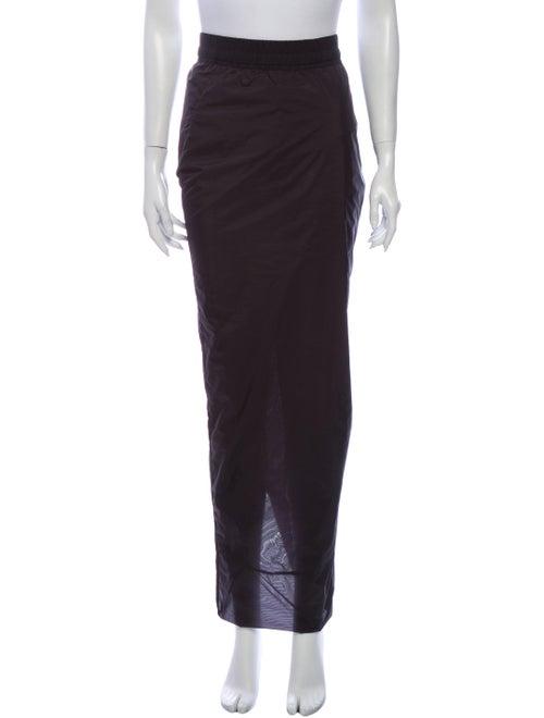 Rick Owens Long Skirt Black