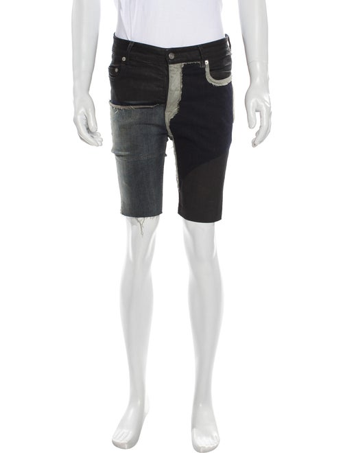Rick Owens Denim Shorts Denim