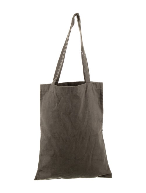 Rick Owens Canvas Tote Bag Green