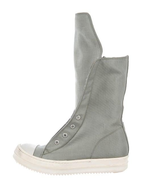 Rick Owens Sock Boots Green