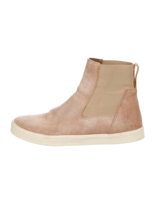 Rick Owens Suede Chelsea Boots