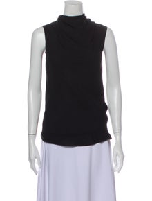 Rick Owens 2014 Silk Top