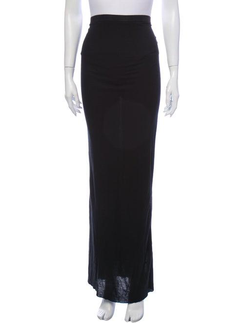Rick Owens Long Skirt Black - image 1