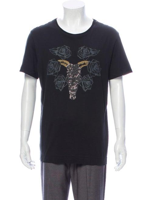 Richmond Denim Graphic Print Crew Neck T-Shirt Den