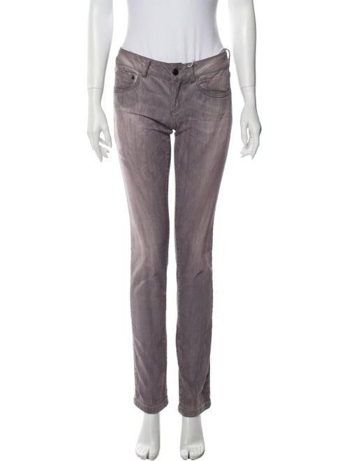 Richmond Denim Low-Rise Straight Leg Jeans w/ Tags