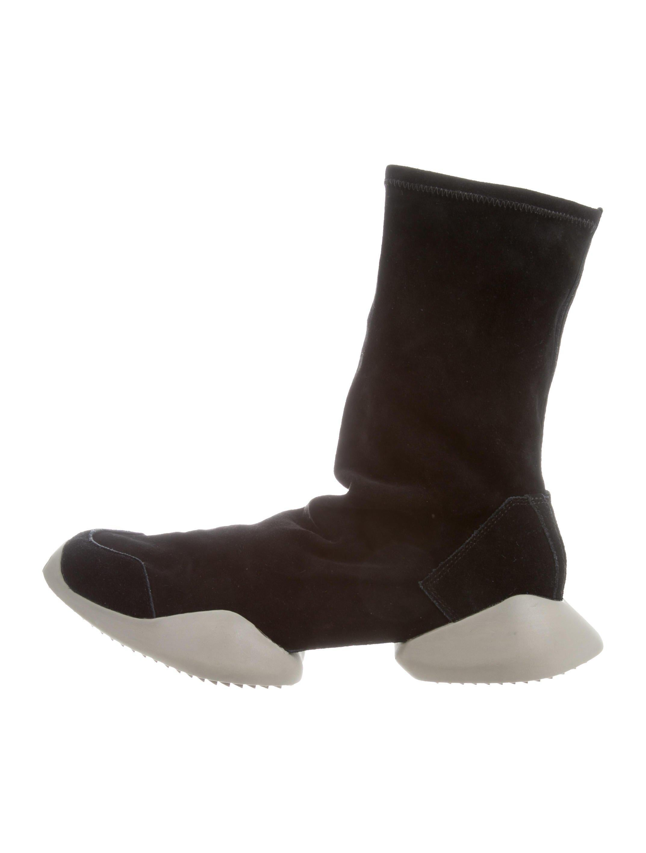 outlet new the best store to get Rick Owens x Adidas Runner Leather Sneakers w/ Tags dOtXD8ibJG