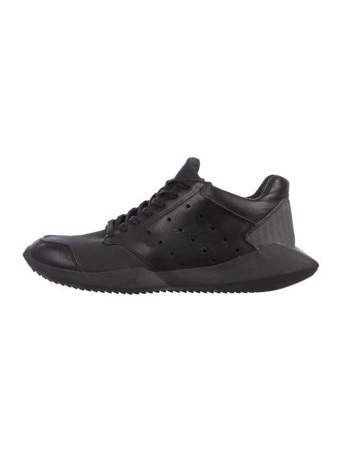 Rick Owens x Adidas Tech Runner Sneakers black