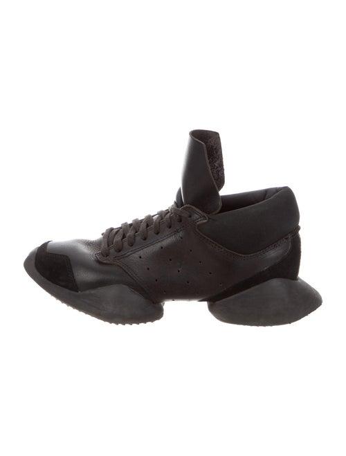 Rick Owens x Adidas Runner Sneakers Black