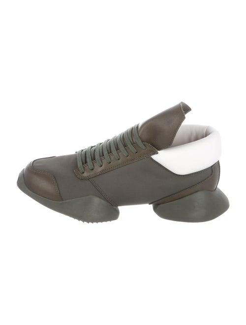 Rick Owens x Adidas Vicious Sneakers Green