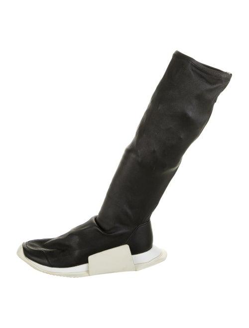 Rick Owens x Adidas Level Sock Runner Sneakers Bla