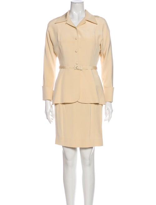 Richard Tyler Silk Skirt Suit
