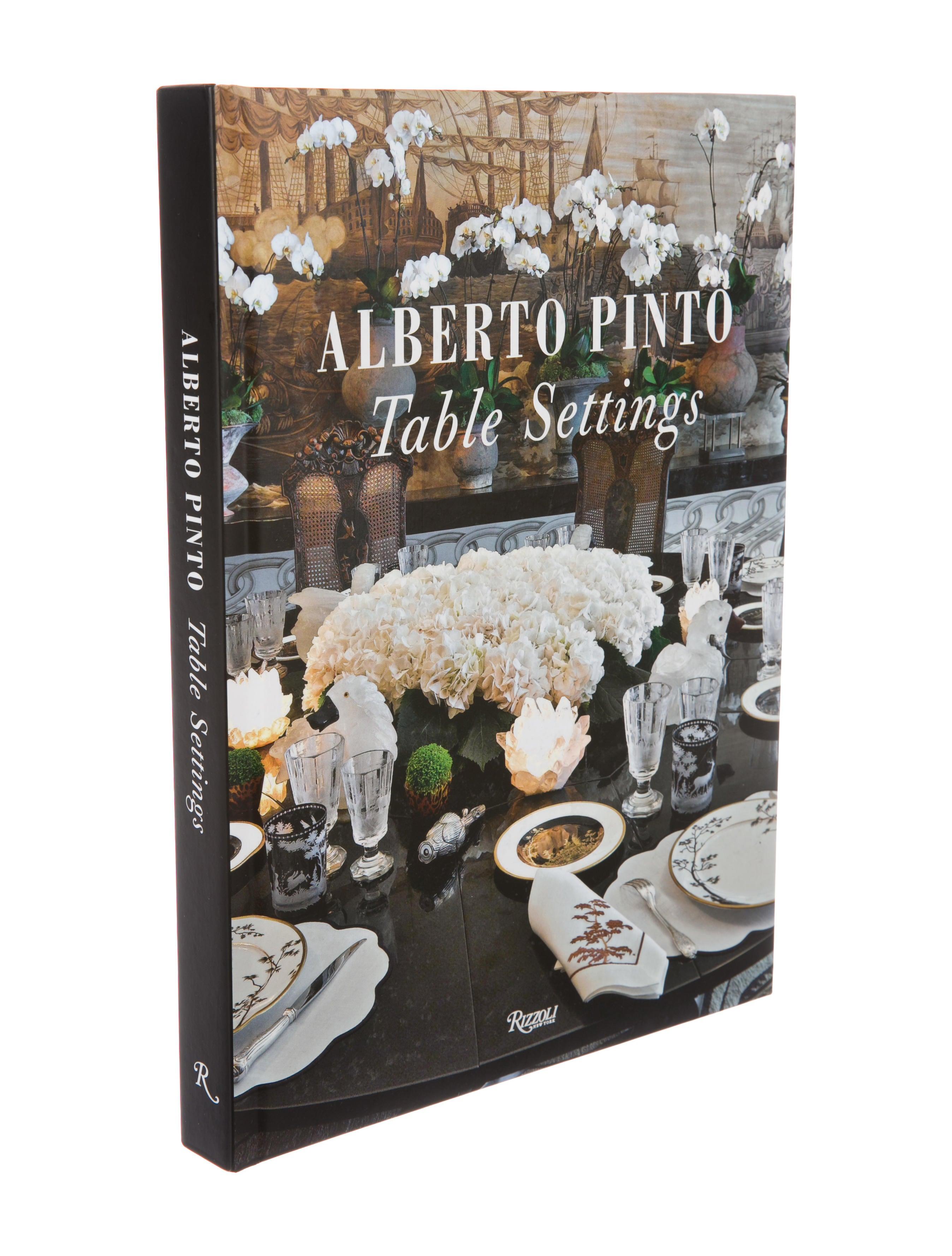 Rizzoli Alberto Pinto: Table Settings - Decor And Accessories ...