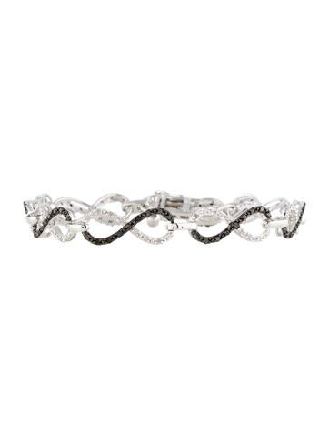 Infinity Diamond Link Bracelet