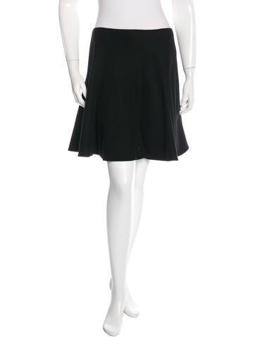 Ralph Lauren Purple Label Wool A-Line Skirt None